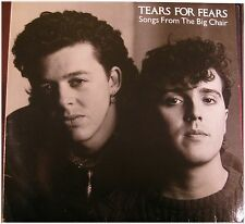 Tears for Fears, canzoni from the Big Chair, G/VG LP (8300)