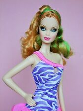 Fass barbie model muse barbie basics top model barbie avec tenue