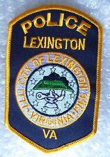 Patch- Lexington City of Lexington VA US Police Patch (NEW*)