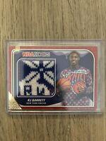 2019-20 NBA Hoops Holiday Winter RJ Barrett Rookie Patch Card Winter Sweater RC