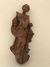 schöne Madonna, Eichenholz geschnitzt