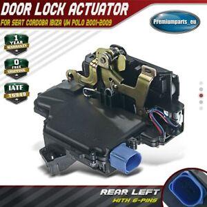 Door Lock Actuator Rear Left for VW Polo 9N 01-09 Seat Ibiza Cordoba 3B4839015AN