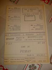 plan de la gare pomas sncf chemins de fer