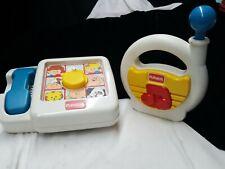 Vintage Playskool Toys Phone Radio