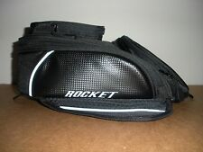 JOE ROCKET MANTA MAGNETIC MOTORCYCLE TANK BAG BLACK Carbon Look