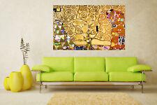 """Gustav Klimt Tree Of Life art painting vintage canvas Portrait  39"""" x 32"""""""