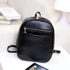 Women  Leather Backpack Travel Handbag Rucksack Shoulder Satchel School Bag L4