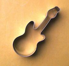 Music electric guitar Baking pastry Biscuit Cookie Cutter metal stainless Mold