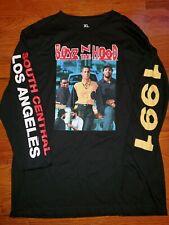 NWOT BOYZ N THE HOOD Black Long Sleeve Shirt 1991 sleeve Men's Size XLarge