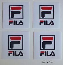 4 Aufkleber Sticker Fila (S147)