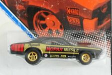 HOT WHEELS 2011 VINTAGE RACING '74 PLYMOUTH DUSTER MOPAR MISSILE