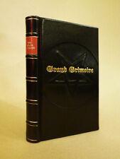 The Grand Grimoire magic demonic spell book rare leather bound