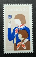 Canada 75th Anniv Of Girl Guides 1985 Scout Scouting Uniform (stamp) MNH *recess
