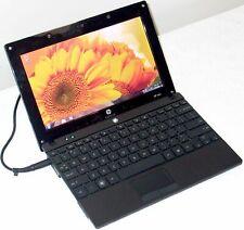 "HP Mini Netbook 10"" Laptop Intel Atom Windows 10 7 Pro WiFi Webcam Tiny Computer"