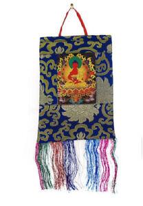 Thangka Bouddha Medecin Tenture tibétaine Tangka Tanka 5811