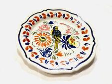 Assiette oiseau faïence Henriot Quimper