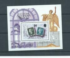 Anguilla stamps. 1990 Stamp World minisheet MNH (K063)