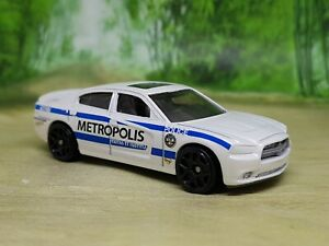 Hotwheels '11 Dodge Charger R/T Police Car - Excellent Condition