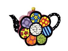 ROMERO BRITTO große Teekanne Kaffeekanne *flower*  1,7 L Teapot  - 20048 E