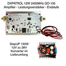 12W 2400MHz  Es´Hail Sat QO-100 PA - Amplifier - Leistungsverstärker - Endstufe
