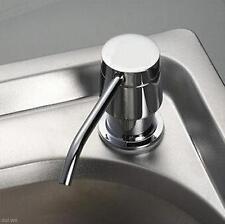 Hot!Kitchen Bathroom Sink Liquid Soap Storage Mount Bottle 300ML Dispenser