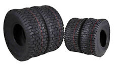 4 New MASSFX Lawn Mower Tires 15x6-6 20x8-8 4 PLY 4 Pack Lawn & Garden Tires