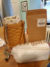 Longaberger 2006 Beverage Tote Basket with Liner and Chilling Pack-new