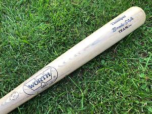 "Vtg Barry Bonds Worth 500T Baseball Bat 34"" NOS New Old Stock Pirates Giants"