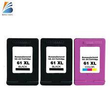 61 61XL BK Color Ink Cartridge For HP ENVY 4500 4501 4502 4504 5530 5533 printer