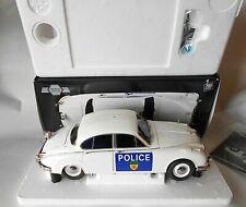 Jaguar Mk 2 Mark II Police Leicester 1/18 Diecast Model Icons Mint Limited 999