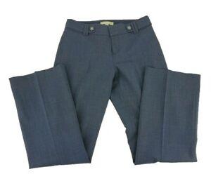 Banana Republic Dress Pants Jackson Fit Size 0S Short Blue Lined Straight Leg C4
