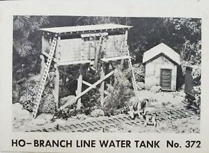 HO/HOn3 Campbell Scale Models Branchline RR Water Tank Kit #372 NOS Sealed Bags