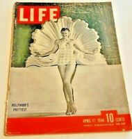 April 17, 1944 LIFE Magazine Esther Williams 1940s Advertising FREE SHIP Apr 4