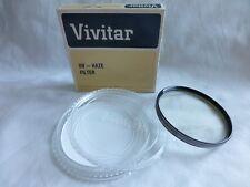 Vivitar 82mm UV Haze Filter Made In Japan old stock new 82