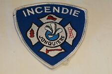 Canadian Jonquiere Quebec Fire Incendie Patch