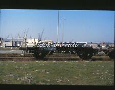N1233 - Dia slide 35mm original Eisenbahn Holland, NS Güterwagen, '80s
