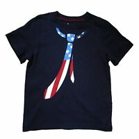 Jumping Beans Toddler Boys' Patriotic Tie Print Cotton T-Shirt - Select size