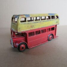 84F Vintage Dinky 29C Type 3 Bus Double Decker London Repeint