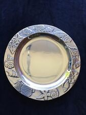 Wilton Armetale Seashells Plate