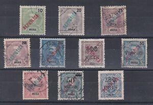 Portugal - Angola Local Republica Small Lot VFU 2