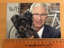 Autograph Press Card of Paul O'Grady - pre-owned