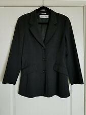 SportMax Max Mara Women's Stretch Jacket Blazer Grey Made in Italy Size 8US EUC