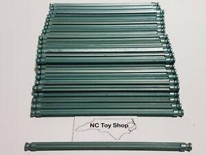 "100 K'NEX Metallic Green Rods 5-1/8"" Screamin' Serpent Replacement Parts KNEX"