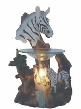 Zebra Wax Tart Scented Oil Candle Warmer Electric Polyresin