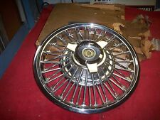 "1967 1968 Mercury Cougar XR7 NOS 14"" Spinner Wire Wheel Cover Hub Cap Orig Box"