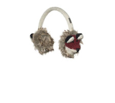 New ADULT red Fox EARMUFFS ear muffs foxy deLux  -Hat & Mittens sold separate