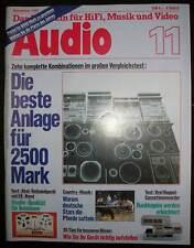 Audio November 1981