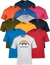 NHS Staff Keyworker Worker Rainbow Support Inspiration Adult Unisex T Shirt