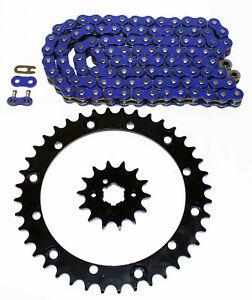 2004 Yamaha YFM 350 Warrior Blue Chain and Black Sprocket 13/40
