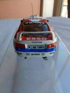 Modellino auto rally 1.43 kit montato